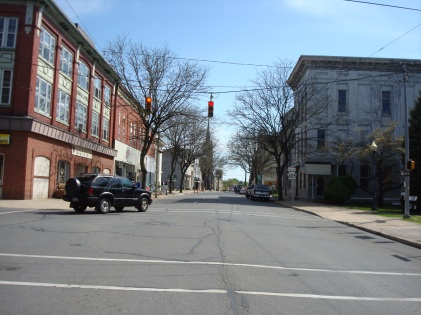 Recent photo of South Front Street, Milton