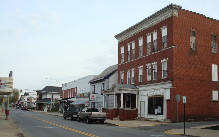Recent photo of downtown Watsontown