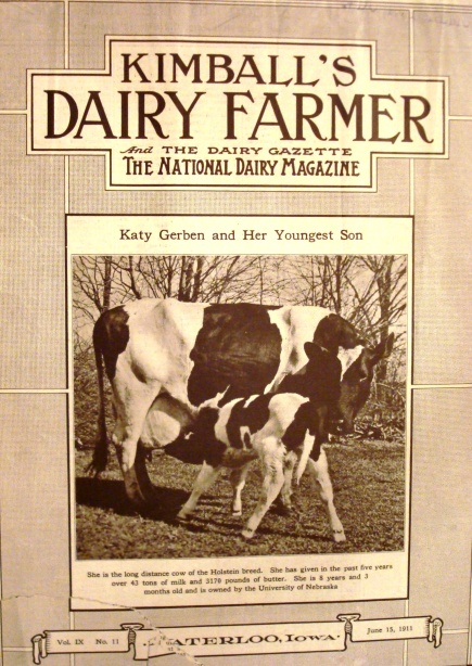 Kimball's Dairy Farmer Magazine (June 15, 1911)