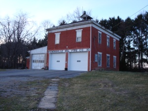 Recent photo of the building that once housed  McEwensville High School.