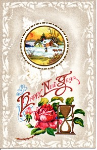 New Years Post Card, circa 1912