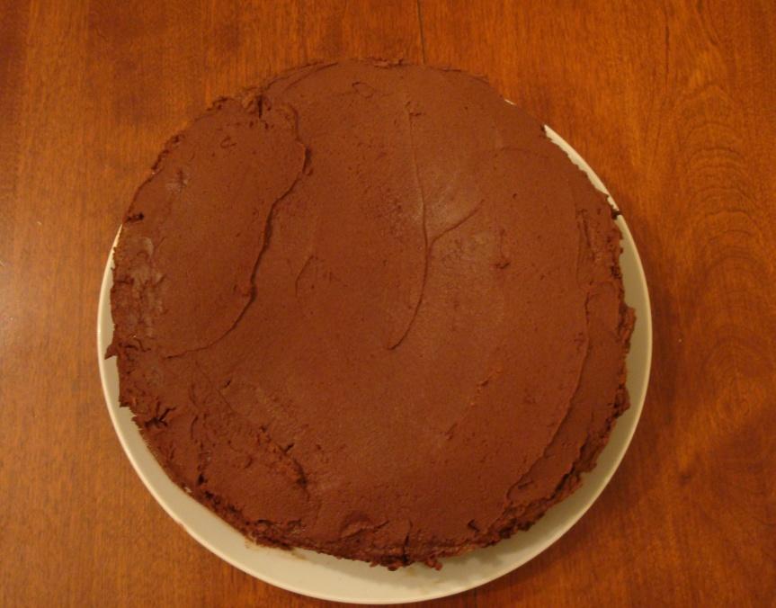 Devil's Food Cake (Modern Recipe)