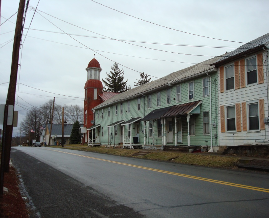A recent rainy day in McEwensville