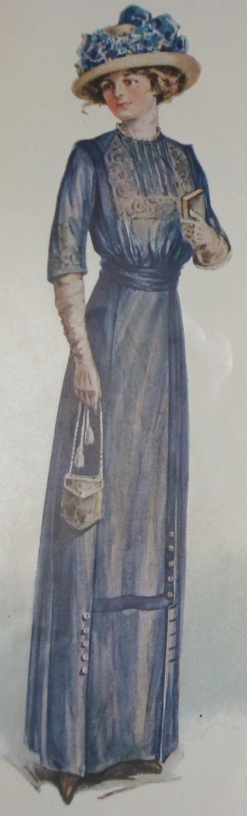 Dress, Ladies Home Journal, March 1912