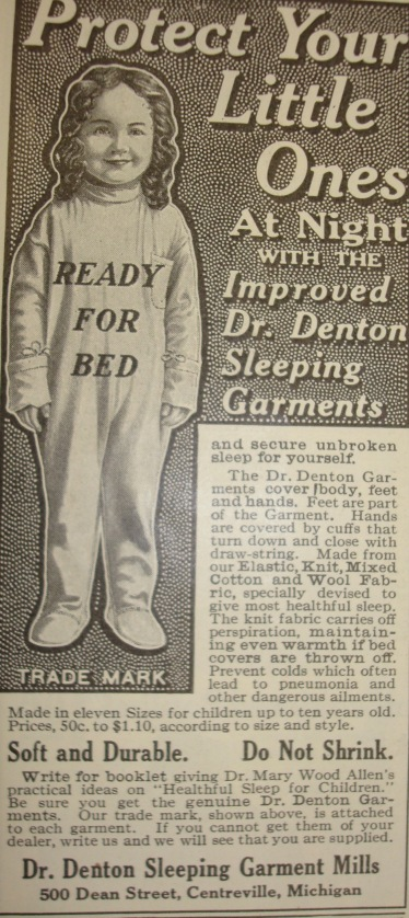 Hundred Year Old Dr. Denton Ad