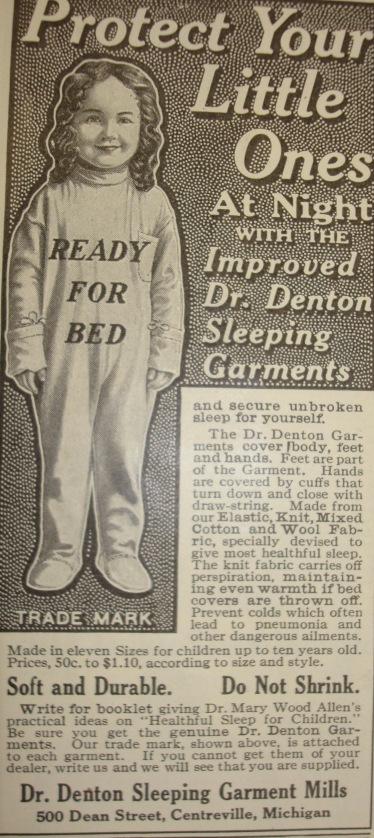 Hundred Year Old Dr. Denton Ad