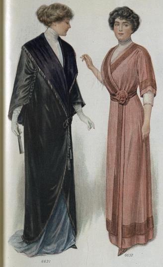 1912 Dress and Coat for Obese Women