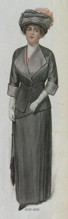 1912 woman's suit