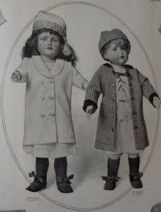 1912 doll clothes