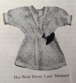 1912 doll dress