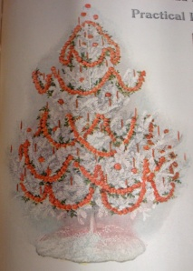 Christmas tree a hundred years ago