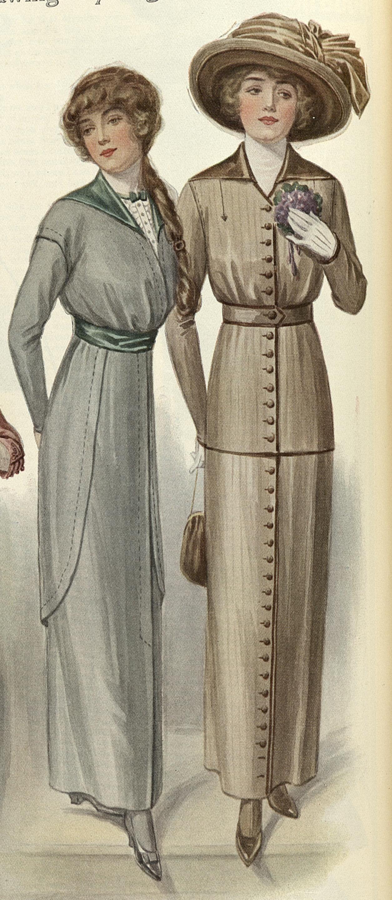 1913 Dresses A Hundred Years Ago