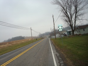 This picture was taken This picture was taken midway between McEwensville and Turbotville.