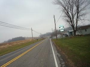 This picture was taken This picture was taken midway between McEwensville and Turbotville.