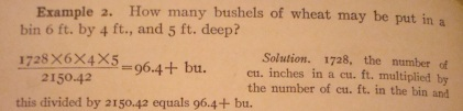 Source: Kimball's Commercial Arithmetic (1911)