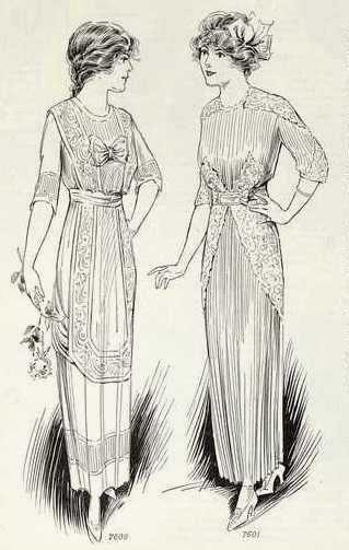 1913 graduation dresses
