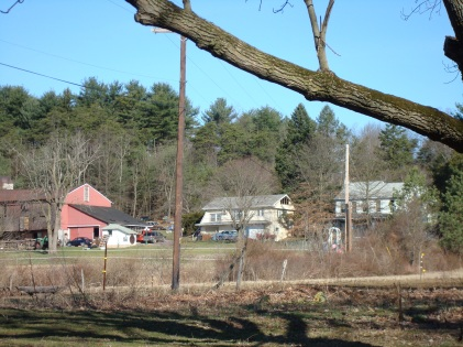 Recent view of the farm where the Oakes lived.