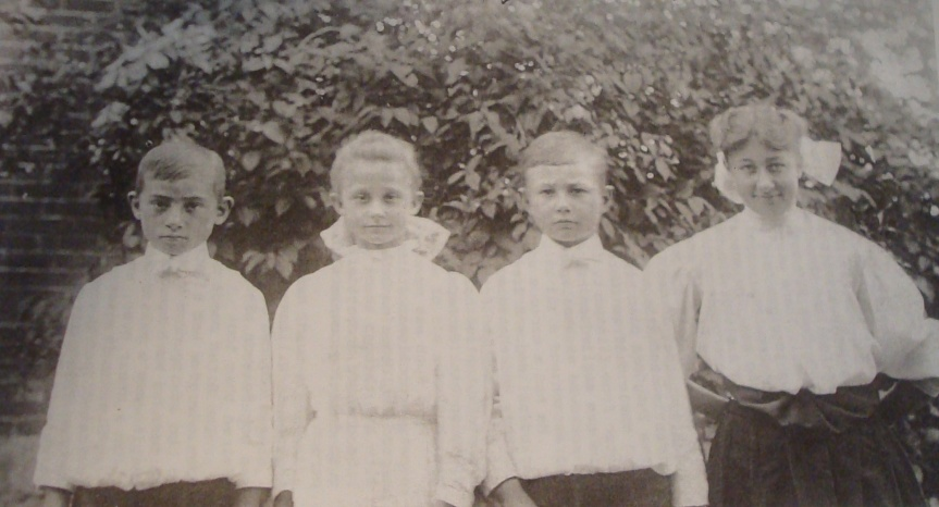 Milford, Margaret, Bertlet, and Blanche Bryson