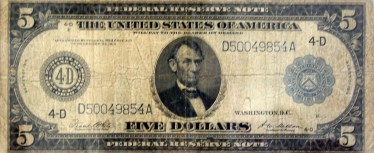 five.dollar.bill.1913.front