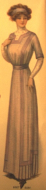 Dress worn with guimpe (Source: Ladies Home Journal--May 1, 1911)