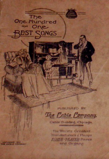 A 1913 Song Book