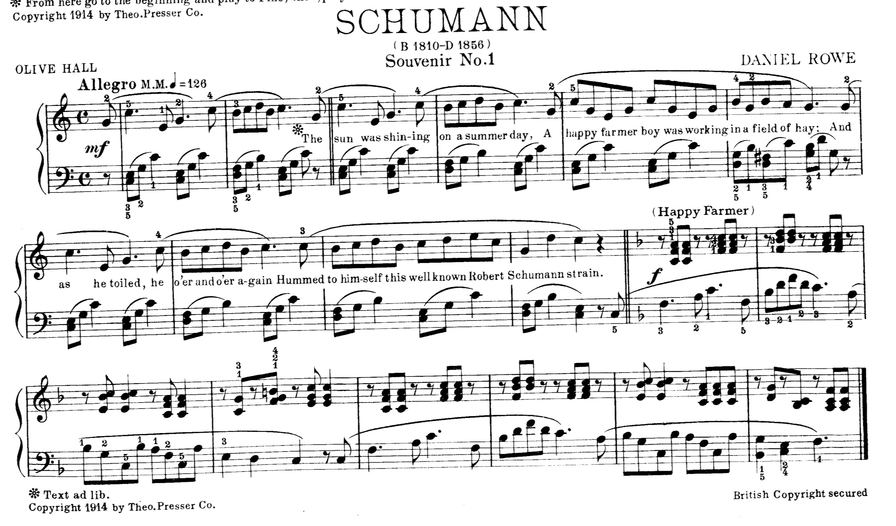 The Secrets of Sight Reading Music – A Hundred Years Ago