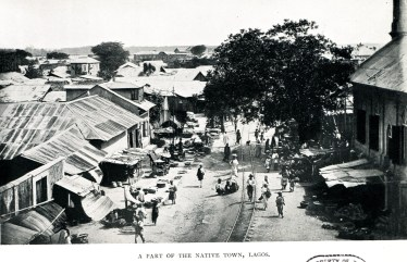 Lagos, Nigeria (Source: A Woman's Winter in Africa, 1913)