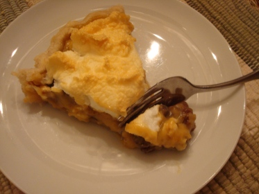 raisin meringue pie (funeral pie)