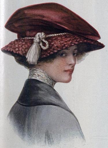 1912 Velvet Hat