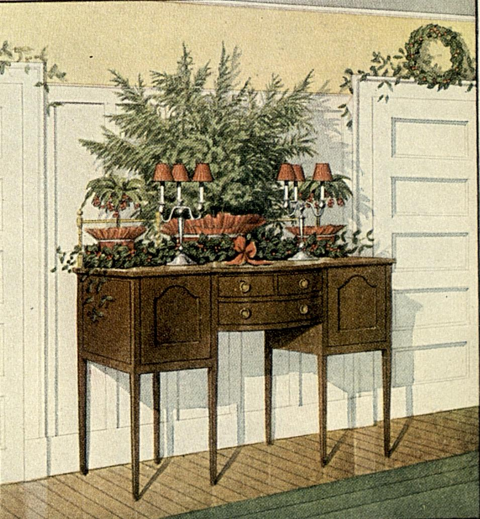 1913 12 81d - Old Fashioned Christmas Decorating Ideas