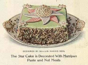 1913 Christmas cake