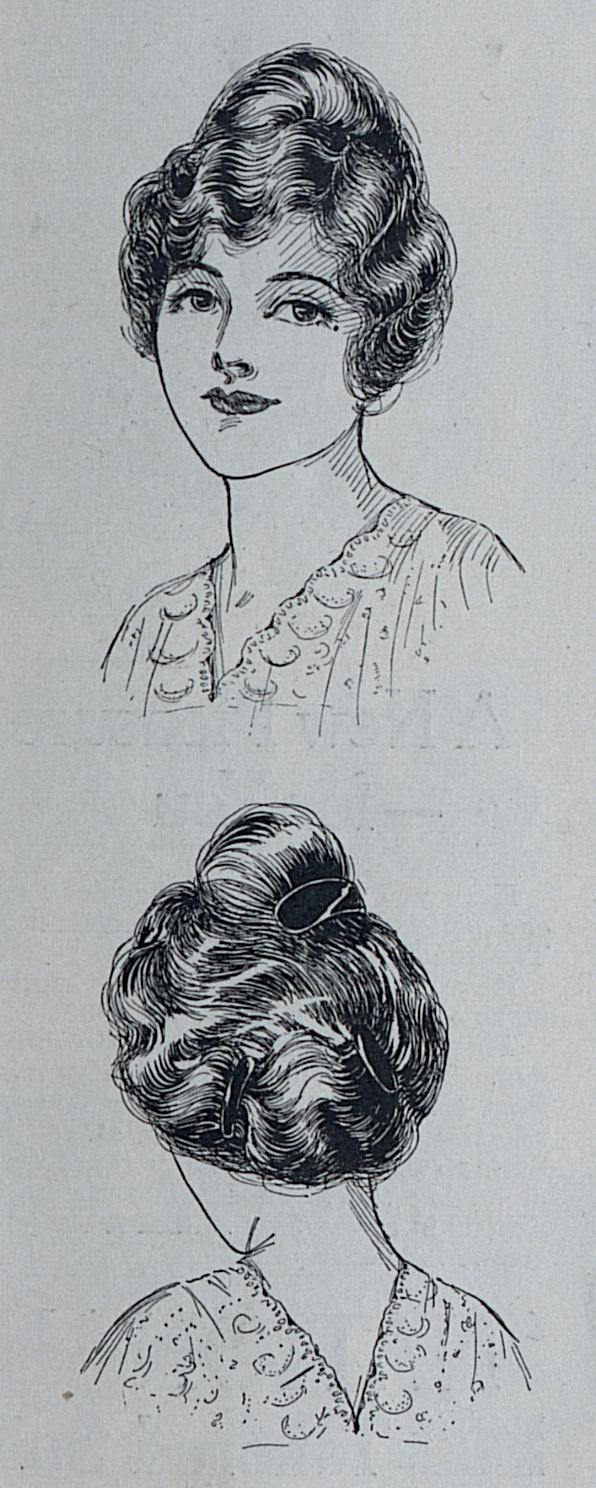 hair styles for braids 1914 hairstyles a hundred years ago 6096