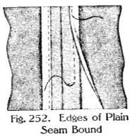 bound seam