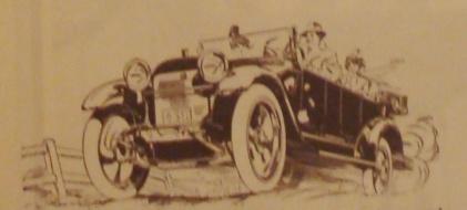 1914 Chalmers car