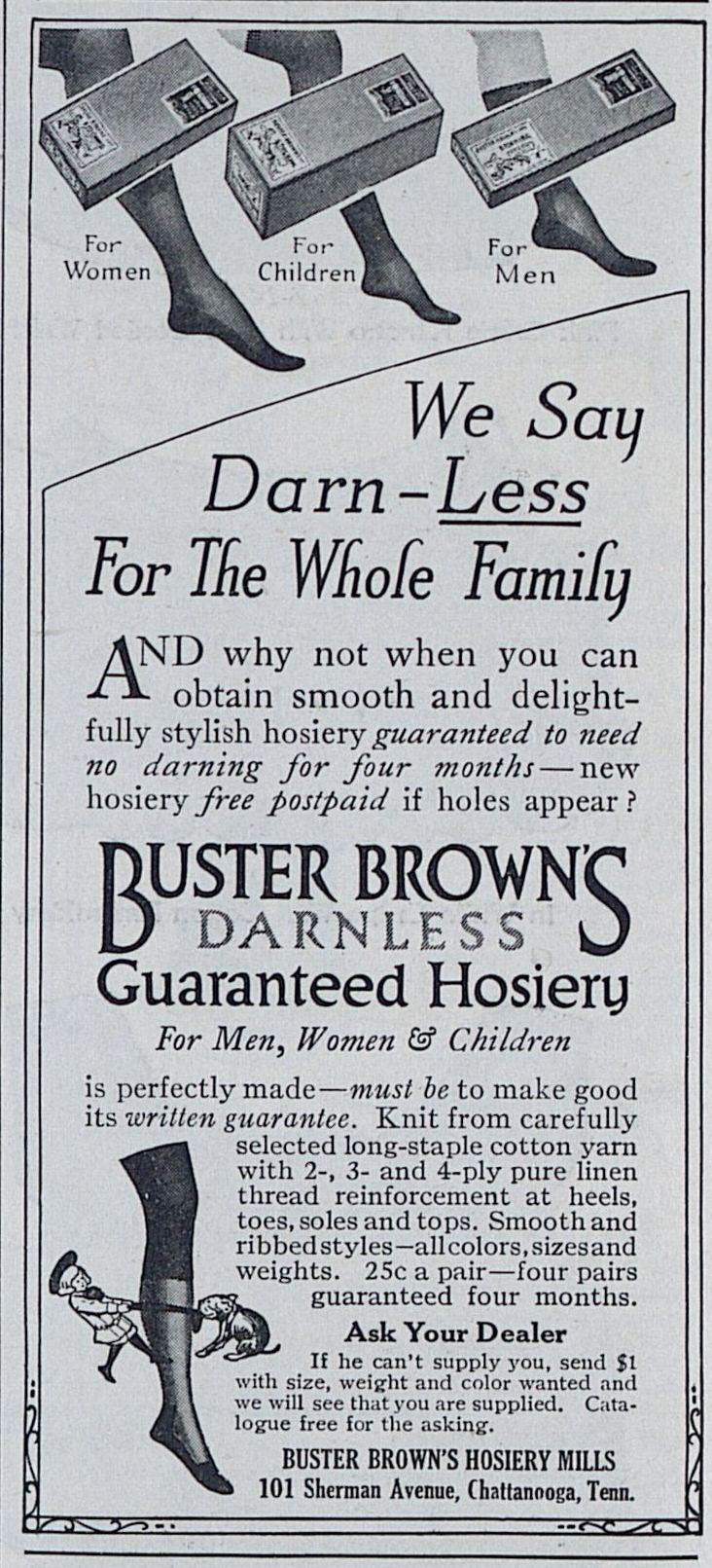 Source: Ladies Home Journal (August, 1914)