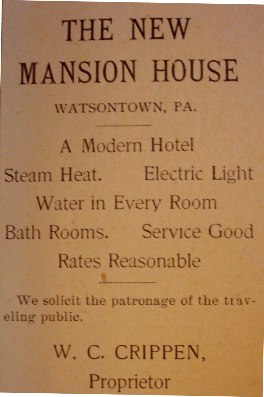 Source: Watsontown Star and Record (April 3, 1914)