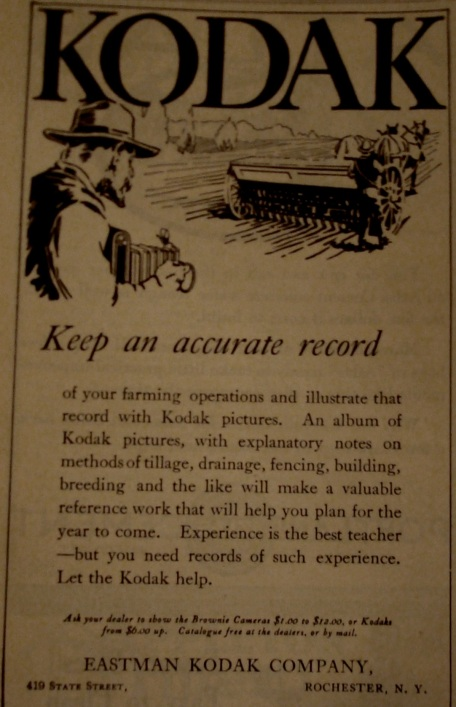 Source:  Kimball's Dairy Farmer Magazine (June 1, 1914)