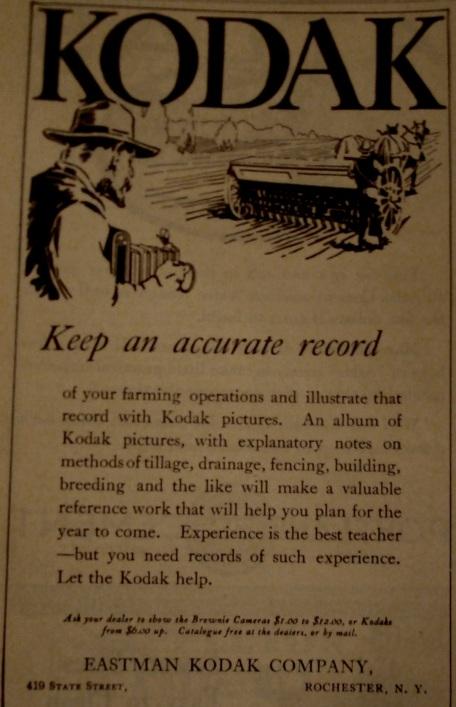 Source:  Kimball's Dairy Farmer Magazine (June 1, 1914)