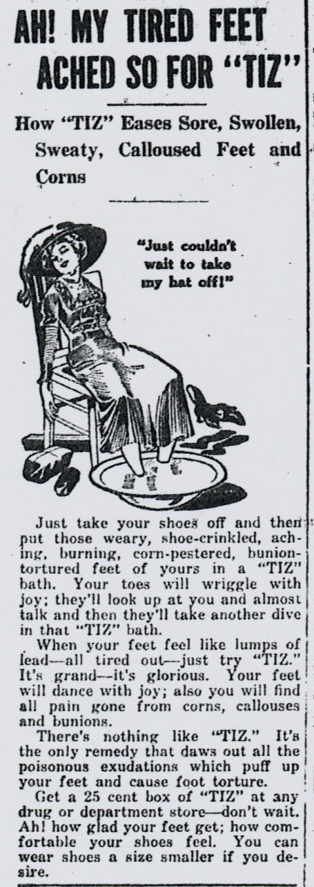 Source: Milton Evening Standard (April 2, 1914)