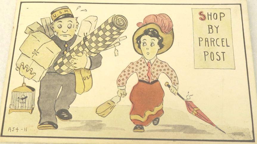 Old postcard, circa 1914