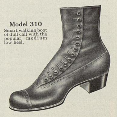 Picture Source: Red Cross Shoe Ad in Ladies Home Journal (November, 1913)