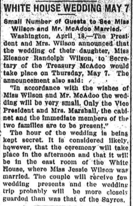 Source: Milton Evening Standard (April 19, 1914)