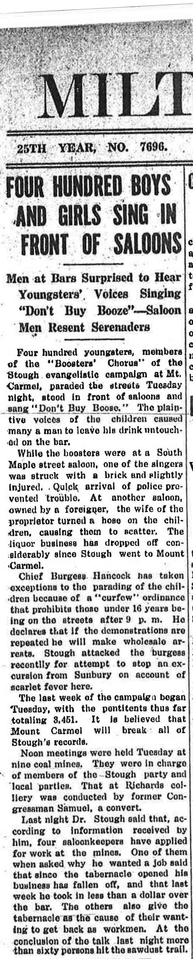 Milton Evening Standard (April 9, 1914)