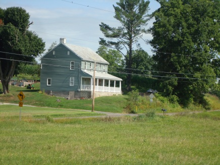 House Carrie (Stout) and John Pressler lived in after their marriage.