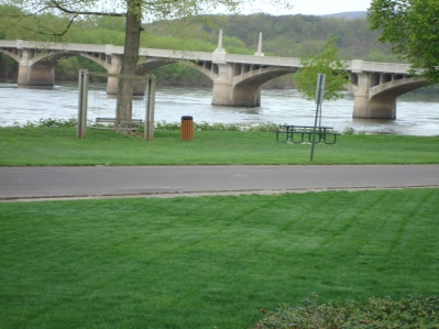 Recent picture of the Susquehanna River at Watsontown