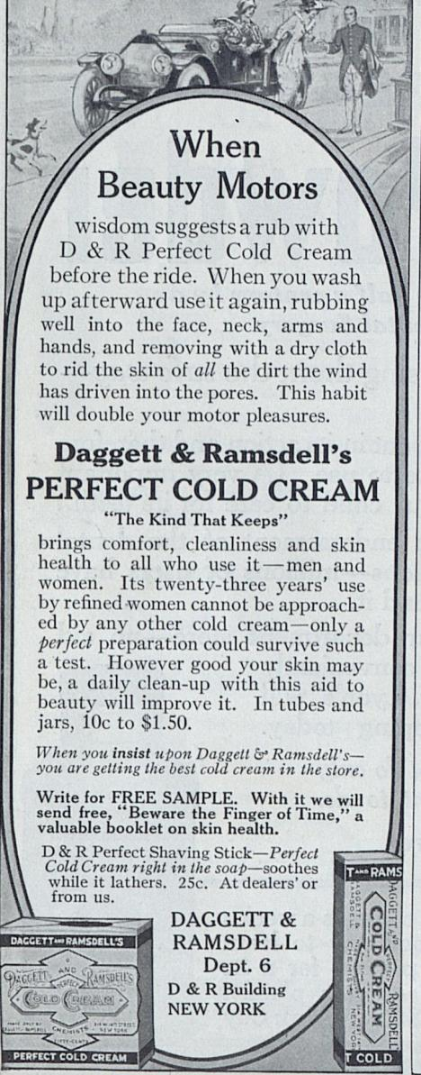 1914 Cold Cream Advertisement