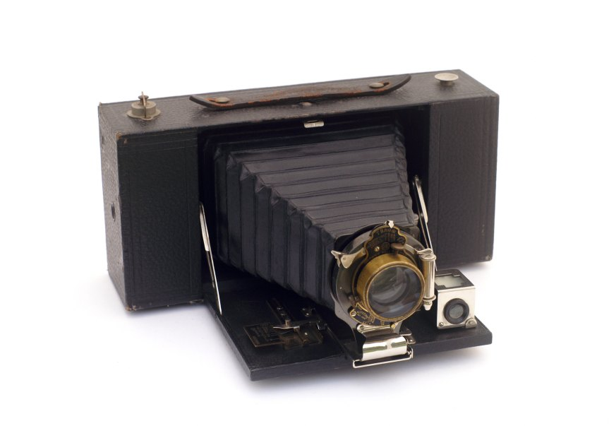 old folding  Brownie camera