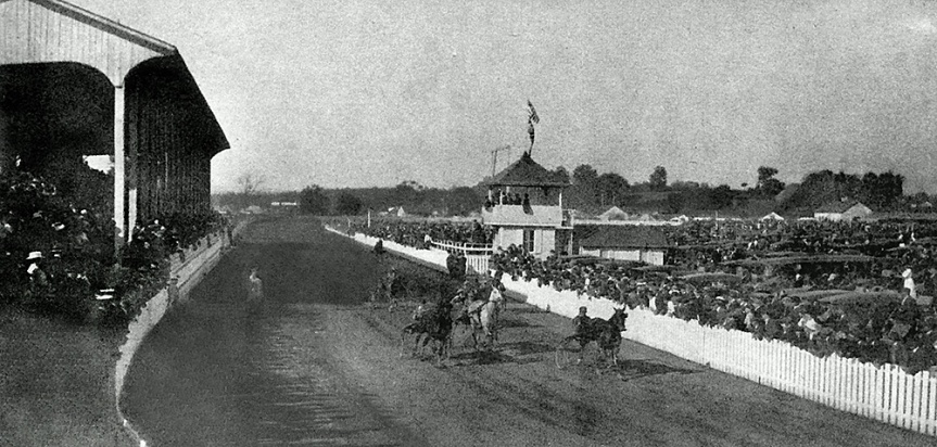 Milton Fairgrounds Grandstand (Photo was taken in the early 1920s) Source: Milton History.org