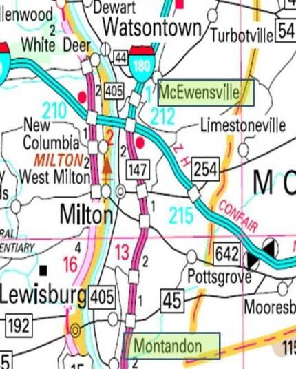 Montandon map
