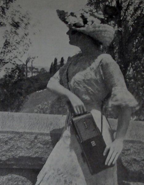 Picture in a 1913 Kodak Camera advertisement